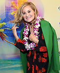 """Maureen McCormick attending the Broadway Opening Night Performance of  """"Escape To Margaritaville"""" at The Marquis Theatre on March 15, 2018 in New York City."""
