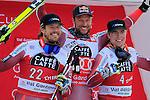 Kjetil JANSRUD, Aksel Lund SVINDAL, Aleksander Aamodt Kilde competes during the FIS Alpine Ski World Cup Men's Super-G in Val Gardena, on December 18, 2015. www.pierreteyssot.com