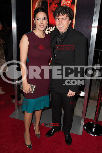 """November 20, 2012 - Beverly Hills, California - Jessica de Rothschild and Sacha Gervasi at the """"Hitchcock"""" Los Angeles Premiere held at the Academy of Motion Picture Arts and Sciences Samuel Goldwyn Theater. Photo Credit: Colin/Starlite/MediaPunch Inc /NortePhoto"""