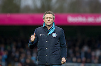 Wycombe Wanderers Manager Gareth Ainsworth gives thumbs up during the Sky Bet League 2 match between Wycombe Wanderers and Luton Town at Adams Park, High Wycombe, England on 6 February 2016. Photo by Andy Rowland.