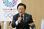 Naoki Inose, Governor of Tokyo, DECEMBER 21, 2012 : New Governor of Tokyo, Naoki Inose was selected to become Chairman of the Tokyo 2020 Olympic bid during a directer's meeting at the Tokyo Metropolitan Government Buildings in Tokyo, Japan. (Photo by AFLO SPORT) [1156]