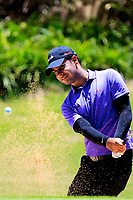 Shubhankar Sharma (IND) during previews for the Afrasia Bank Mauritius Open played at Heritage Golf Club, Domaine Bel Ombre, Mauritius. 29/11/2017.<br /> Picture: Golffile | Phil Inglis<br /> <br /> <br /> All photo usage must carry mandatory copyright credit (&copy; Golffile | Phil Inglis)