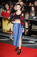 "Ashley James<br /> at the ""Game of Thrones Hardhome"" gala screening, Empire, Leicester Square London<br /> <br /> <br /> ©Ash Knotek  D3098 12/03/2016"