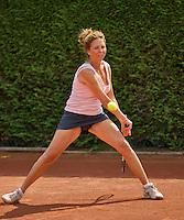 Netherlands, Amstelveen, August 22, 2015, Tennis,  National Veteran Championships, NVK, TV de Kegel,  Lady's 40+, Judith Lasonder-Kos<br /> Photo: Tennisimages/Henk Koster