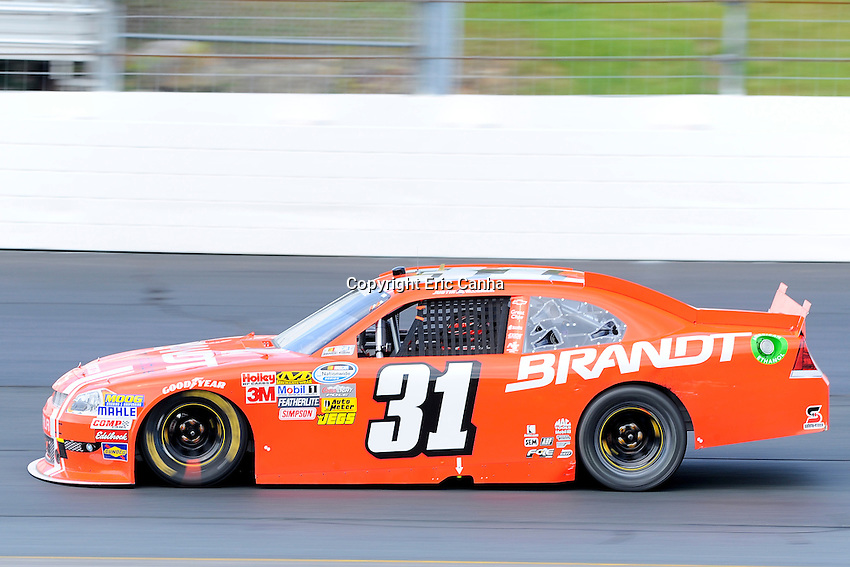 July 14 2012 Nationwide Series driver Justin Allgaier (31)  in the F.W. Webb 200 at the New Hampshire Motor Speedway in Loudon New Hampshire. Eric Canha/CSM