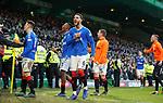29.12.2019 Celtic v Rangers: Connor Goldson celebrates