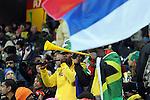 FUDBAL, NELSPRUIT, 23. Jun. 2010. - Navijaci pred pocetak utakmice. Utakmica 3. kola grupe D Svetskog prvenstva u fudbalu izmedju Srbije i Australije koja je odigrana na stadionu Mbombela u Nelspruitu. Foto: Nenad Negovanovic