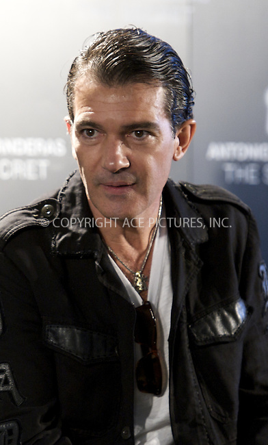 WWW.ACEPIXS.COM . . . . .  ..... . . . . US SALES ONLY . . . . .....November 11 2010, Madrid....Spanish actor Antonio Banderas promotes his new Fragrance 'The Secret' at the Palace Hotel on November 11, 2010 in Madrid, Spain. ....Please byline: FD/ACE Pictures, Inc.... . . . .  ....Ace Pictures, Inc:  ..Tel: (212) 243-8787..e-mail: info@acepixs.com..web: http://www.acepixs.com