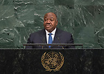 72 General Debate – 20 September <br /> <br /> His Excellency Ali Bongo Ondimba, President of the Gabonese Republic