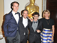 Timo von Gunten, Stefan Eichenberger, Giacun Caduff and Corinna Glaus at the Academy of Motioon Pictures Arts &amp; Sciences new member party, Spencer House, St James Place, London, England, UK, on Thursday 05 October 2017.<br /> CAP/CAN<br /> &copy;CAN/Capital Pictures