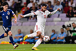 Mohammadhossein Kanani Zadeghan of Iran (C) in action during the AFC Asian Cup UAE 2019 Semi Finals match between I.R. Iran (IRN) and Japan (JPN) at Hazza Bin Zayed Stadium  on 28 January 2019 in Al Alin, United Arab Emirates. Photo by Marcio Rodrigo Machado / Power Sport Images