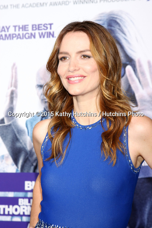"LOS ANGELES - OCT 26:  Saffron Burrows at the ""Our Brand is Crisis"" LA Premiere at the TCL Chinese Theater on October 26, 2015 in Los Angeles, CA"