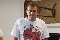 La tomatina 2012: Spain's Tomato Fight Festival- Joaquin Masmano, mayor of Bu?±ol