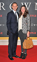 Harry Hadden-Paton and Rebecca Night at the &quot;The Crown&quot; TV premiere, Odeon Leicester Square cinema, Leicester Square, London, England, UK, on Tuesday 01 November 2016. <br /> CAP/CAN<br /> &copy;CAN/Capital Pictures /MediaPunch ***NORTH AND SOUTH AMERICAS ONLY***
