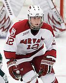Colin Moore (Harvard - 12) - The Harvard University Crimson defeated the Dartmouth College Big Green 4-1 (EN) on Monday, January 18, 2010, at Bright Hockey Center in Cambridge, Massachusetts.