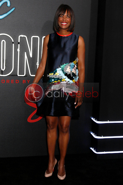 """Aisha Tyler<br /> at the """"Atomic  Blonde"""" Premiere, Theater at the Ace Hotel, Los Angeles, CA 07-24-17<br /> David Edwards/DailyCeleb.com 818-249-4998"""