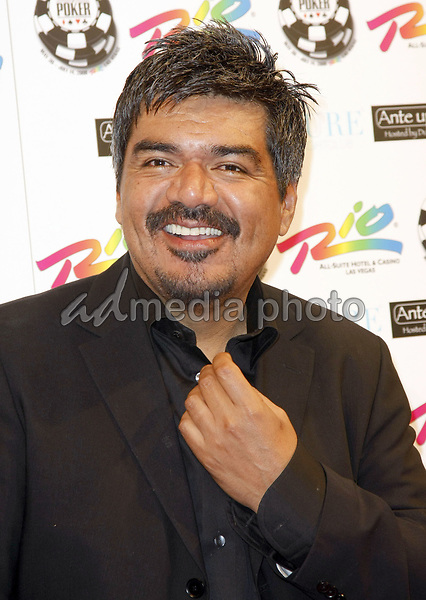 "2 July 2008 - Las Vegas, Nevada - George Lopez. Annie Duke and Don Cheadle host the 2nd Annual ""Ante Up For Africa"" Celebrity Poker Tournament during the 2008 World Series of Poker held at the Rio All-Suite Hotel and Casino. Photo Credit: MJT/AdMedia"