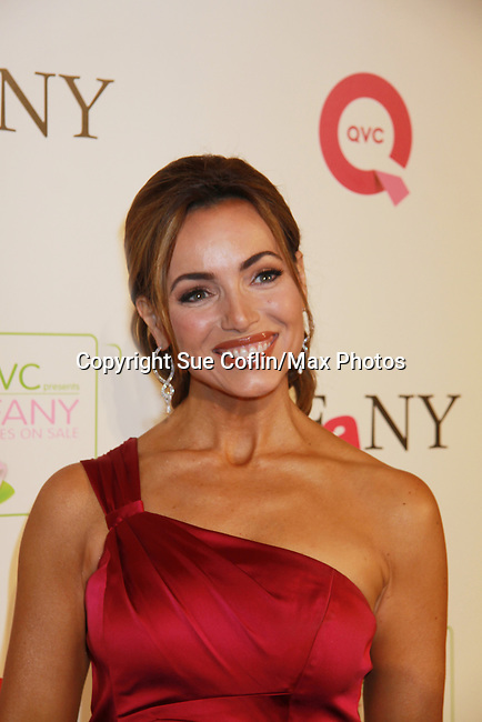 QVC Host Lisa Robertson at 18th Annual QVC FFANY Shoes on Sale - a benefit for Breast Cancer Research and Education on October 13, 2011 at the Waldorf Astoria Hotel, New York City, New York. (Photo by Sue Coflin/Max Photos)