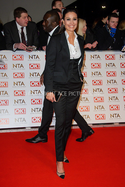 WWW.ACEPIXS.COM<br /> <br /> January 20 2015, London<br /> <br /> Melanie Sykes attends the National Television Awards at the O2 Arena on January 21 2015 in London<br /> <br /> <br /> By Line: Famous/ACE Pictures<br /> <br /> <br /> ACE Pictures, Inc.<br /> tel: 646 769 0430<br /> Email: info@acepixs.com<br /> www.acepixs.com