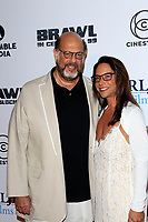 "LOS ANGELES - SEP 29:  Fred Melamed, Leslee Melamed at the ""Brawl in Cell Block 99"" Premiere at the Egyptian Theater on September 29, 2017 in Los Angeles, CA"