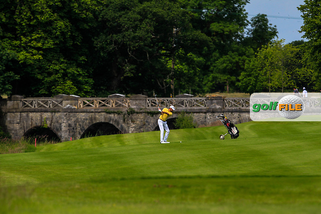 Mark Talbot (Thorpe Hall GC) on the 2nd fairway during Round 2 of the Titleist &amp; Footjoy PGA Professional Championship at Luttrellstown Castle Golf &amp; Country Club on Wednesday 14th June 2017.<br /> Photo: Golffile / Thos Caffrey.<br /> <br /> All photo usage must carry mandatory copyright credit     (&copy; Golffile | Thos Caffrey)