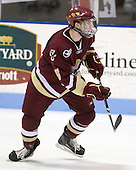 Patrick Wey (BC - 6) - The Northeastern University Huskies defeated the Boston College Eagles 3-2 on Friday, February 19, 2010, at Matthews Arena in Boston, Massachusetts.