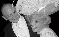 Yul Brenner Carol Channing 1978<br /> Opening of Hello Dolly<br /> Photo By Adam Scull/PHOTOlink.net
