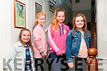 Fashion Show : Pictured at the fashion show in aid of the Irish Heart Foundation organized by Mary & Marion O'Grady held at the Cliff House Hotel, Ballybunion on Friday night last were Caoimhe O'Connor, Ava Maloney, Leah Nagle & Maggie O'Neill.