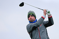 Thomas O'Connor (Athlone) during the QF matchplay at the 2018 West of Ireland, in Co Sligo Golf Club, Rosses Point, Sligo, Co Sligo, Ireland. 02/04/2018.<br /> Picture: Golffile | Fran Caffrey<br /> <br /> <br /> All photo usage must carry mandatory copyright credit (&copy; Golffile | Fran Caffrey)