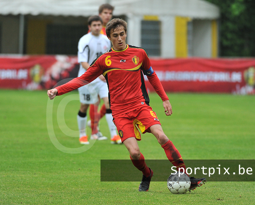 Georgia U19 - Belgium U19 : Julien De Sart<br /> foto DAVID CATRY / Nikonpro.be