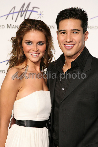 9 September 2006 - Beverly Hills, California. Heidi Mueller and Mario Lopez. 3rd Annual Alfred Mann Foundation Innovation and Inspiration Gala Honoring Richard and Nancy Riordan. Photo Credit: Byron Purvis/AdMedia