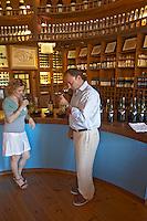 Wine shop. and tasting room. Boutari Wineries, Steinmachos, Naoussa, Macedonia, Greece