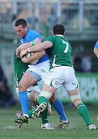 Alberto Sgarbi (Italia)<br /> Italia vs Irlanda 11-13<br /> Six Nations Rugby<br /> Stadio Flaminio, Roma, 05/02/2011<br /> Photo Antonietta Baldassarre Insidefoto