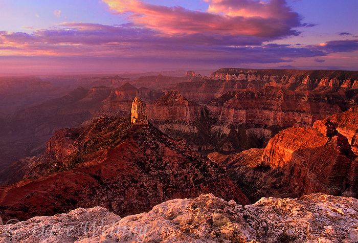 Grand Canyon National Park In Northern Arizona Protects A