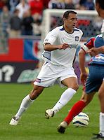 San Jose's Ramiro Corrales, San Jose vs. New England, Foxboro, Ma, May 3, 2003. San Jose won 2-0.