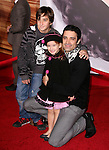 Gilles Marini and daughter Juliana at Disney Premiere of Tangled held at El Capitan Theatre in Hollywood, California on November 14,2010                                                                               © 2010 Hollywood Press Agency