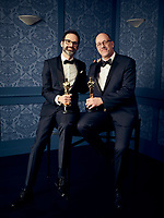 Oscar® winners Andrew Buckland and Michael McCusker during the 92nd Oscars® on Sunday, February 9, 2020 at the Dolby Theatre® in Hollywood, CA, televised live by the ABC Television Network.<br /> *Editorial Use Only*<br /> CAP/AMPAS<br /> Supplied by Capital Pictures