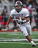 Justin Coppola #22 of Garden City races downfield during a Nassau County Conference II varsity football game against host Elmont High School on Saturday, Oct. 1, 2016. Garden City won by a score of 49-20.