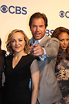Loving's Michael Weatherly with castmate Geneva Bull - CBS Upfront 2016 - Oak Room, New York City, New York.  (Photo by Sue Coflin/Max Photos)