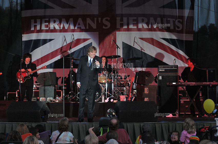 Herman's Hermits starring Peter Noone,  performing at the Hamden Free Summer Concert Series