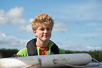 20120808 Scoutlägret Boomerang 2012 på Vässarö tillsammans med Ossian