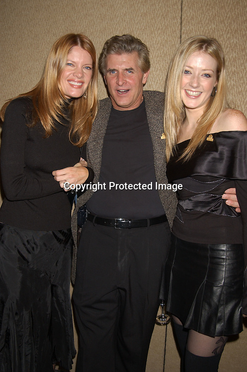 Michelle Stafford, Michael Swan and Jennifer Finnegan                                     ..at the Ninth Annual Daytime Television Salutes St. Judes Children's Research Hospital benefit in New York City on ..October 10, 2003 at the Marriott Marquis Hotel.