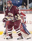 Dan Bertram (Vinny Monaco) - The University of Massachusetts-Lowell River Hawks defeated the Boston College Eagles 6-3 on Saturday, February 25, 2006, at the Paul E. Tsongas Arena in Lowell, MA.