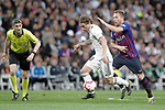 Real Madrid CF's Luka Modric and FC Barcelona's Ivan Rakitic during La Liga match. March 02,2019. (ALTERPHOTOS/Alconada)