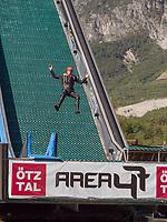 Wasserrutsche, Freizeitpark Area 47, &Ouml;tztal-Bahnhof, Imst, Tirol, &Ouml;sterreich, Europa<br /> waterslide outdoor sports park Area 47, &Ouml;tztal-Bahnhof,, Imst, Tyrol, Austria, Europe