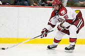 Colin Blackwell (Harvard - 63) - The Yale University Bulldogs defeated the Harvard University Crimson 5-1 on Saturday, November 3, 2012, at Bright Hockey Center in Boston, Massachusetts.