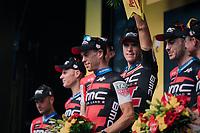 Team BMC wins the TTT<br /> <br /> Stage 3 (Team Time Trial): Cholet > Cholet (35km)<br /> <br /> 105th Tour de France 2018<br /> ©kramon