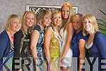 Sadhbh Fitzgerald, Valerie Hunt, Helen O'Connor, Veronica Hunt Kerry Rose, Muireann Quane, Lyndsey Moriarty, and Elaine Hackett pictured at the Kerry Rose Selection at the Earl of Desmond Hotel on Saturday night.
