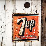 Rusty 7up soft drink sign, Ghost town of Bradley, Calfiornia, along US 101<br /> <br /> You Like ItIt Likes You