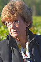 Martine Cazeneuve, owner. Chateau Paloumey, Haut Medoc, Bordeaux, France.